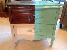 Perfect Finishing Details From Amy Howard At Home #beforeandafter #lacquer #belize  #onesteppaint #