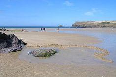 Beach at Polzeath, Cornwall