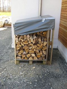 Brennholz-Stapelbox Firewood, Mario, Texture, Crafts, Lawn And Garden, Home Projects, Surface Finish, Woodburning, Manualidades