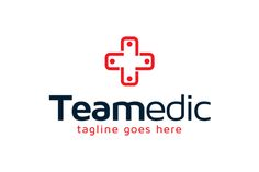 Medical Team Logo Template by gunaonedesign on Creative Market