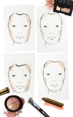 Sephora Glossy / THE TIP-OFF: HOW TO HIGHLIGHT + CONTOUR BY FACE SHAPE