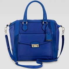 "Cole Haan ""Zoe Structured Satchel Bag"""