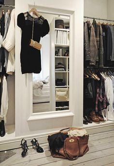 Walk inn.. couleur plancher et miroir
