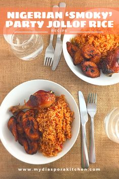 Nigerian Party Rice Stove Top Edition - My Diaspora Kitchen