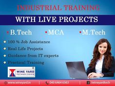 Industrial #Training with Live #Projects. Register Now: http://wineyard.in/