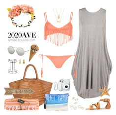 """Beach Please"" by annellie ❤ liked on Polyvore"