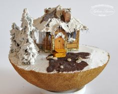 10 Christmas Balls, Snow Globes, Gingerbread, Decoupage, Santa, Food, Home Decor, Diy, Christmas Ornaments