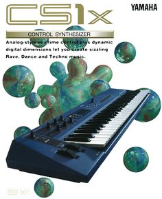 Yamaha's CS1X Launched in 1996 With Some Nice Functions/Knobs To Create Those Fat Analog Sounds.