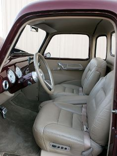 1950 chevy truck interior - Google Search