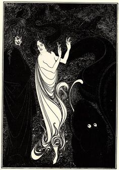 Third tableau, 1896 by Aubrey Beardsley. Art Nouveau (Modern). illustration…