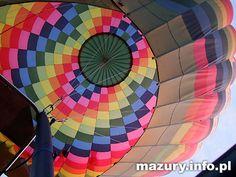 Lot widokowy balonem na ogrzane powietrze