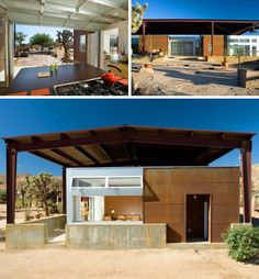 5 Modern Eco-Friendly Prefab Homes You Can Order Right Now – My Life Spot Green House Design, Dream Home Design, Sustainable Architecture, Modern Architecture, Sustainable Houses, Sustainable Style, Green Building, Building A House, Desert Design