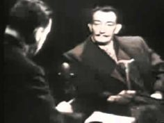 Salvador Dali Mike Wallace interview 1958 Part 2 2 YouTube - YouTube
