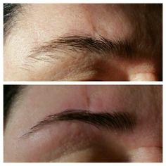 Eyebrows threading