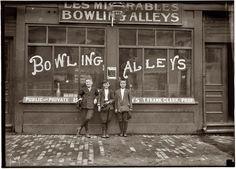 Κορινοθέτες μπόουλινγκ στη Μασαχουσέτη (1911)