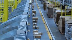 Amazon has made there warehouses super efficient. A Amazon employee only has to do work for about a minute each package the rest is done by robots. With these robots Amazon can store 50% more inventory.
