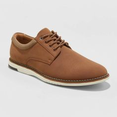 New With Tags From Target, No Imperfections. Brand: Goodfellow & Cotan Mm Man Shop, Tan, Footwear, Men, Round Toe Sneakers, Boat Shoes, Classic Tan, Dress Shoes Men, Faux Leather
