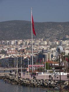 Kusadasi  October 2013. Ciudad balneario en la provincia de Aydin en la costa Egea de Turquía y a 20 kms de Efeso.
