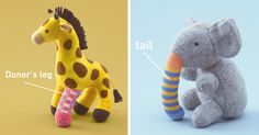 Old Toys Receive Donated Limbs To Educate Kids About Organ Transplants | Bored Panda