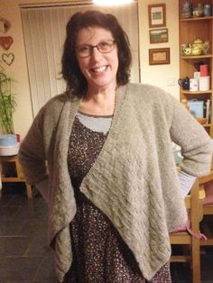 Marina has made Duchess Cardigan and it looks fabulous! Full story on blog: http://bit.ly/1oX1Ulb