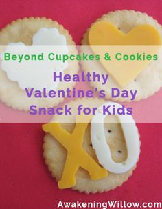Healthy Valentine's Day Snack for Kids