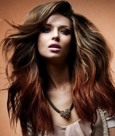 Ombre Hair Color Trend By Saks