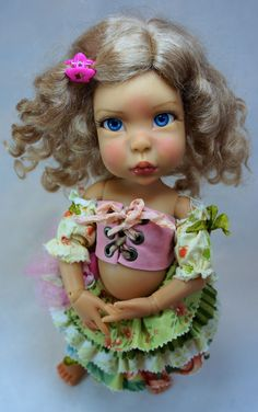 Original artist doll beautiful bjd by Bo Bergemann http://www.bergemanndolls.com
