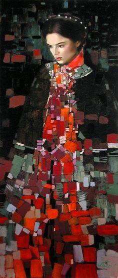 Title unknown -- by artist Irene Sheri (b.1968, Ukrainian) aka Irene Sheri Vishnevskaya.