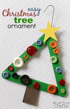 Find Easy Christmas Crafts for kids including preschool Christmas crafts.They will love these holiday crafts for Christmas craft ideas for children. Christmas Ornament Crafts, Christmas Projects, Holiday Crafts, Christmas Decorations, Easy Kids Christmas Crafts, Diy Ornaments, Christmas Activities, Picture Christmas Ornaments, Kids Ornament