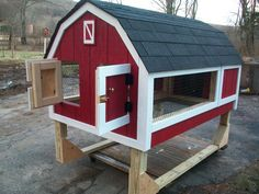 Rabbit Hutch See mom, we can make this and then I can have a bunny!:)