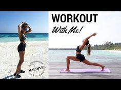 (1) WORKOUT WITH ME ON VACATION | Annie Jaffrey - YouTube