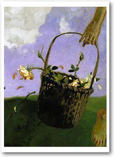 """The Rose Thief"" by Jamie Wyeth"