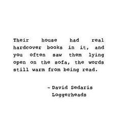 Loggerheads - David Sedaris