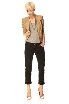 Duke Leather Jacket - Jackets & Coats - French Connection