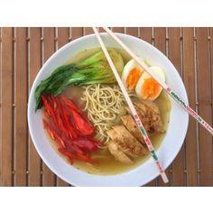 Aziatische miso-noodlesoep