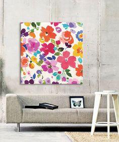 Modern Floral Pop