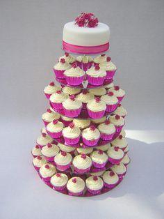 Image detail for -Cupcake Wedding Cakes