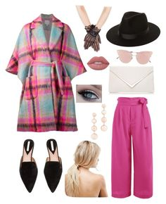 """Untitled #6"" by cjzj on Polyvore featuring Delpozo, So.Ya, ASOS, Lack of Color, Rebecca Minkoff and Lime Crime"