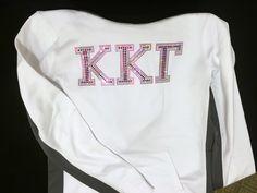 Kappa Kappa Gamma hoodie. #Pink #SororityLife #GreekLife #ASAGO
