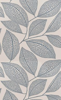 Shop Covered Wallpaper online for best selling designer wallpaper for your home. Wallpaper samples ship for free! Shop from home and have wallpaper delivered to your front door. Textile Patterns, Textile Design, Textiles, Leaf Patterns, Surface Pattern Design, Pattern Art, Pattern Designs, Circle Pattern, Pattern Drawing