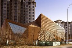 Mochen Architects & Engineers designed this impressive building in China.