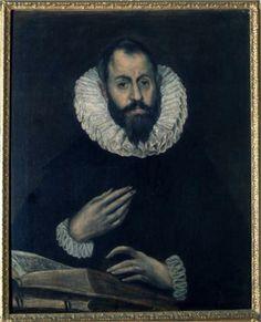 Portrait of Alonso de Herrera - El Greco