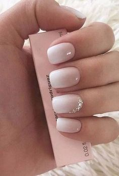 Spring Special Nails: le tendenze per la primavera 2019 - Glamour.it - - Spring Special Nails: le tendenze per la primavera 2019 – Glamour.it make up Trends Nails Summer Die beliebtesten Farben und Formen – Glamour Cute Spring Nails, Cute Nails, Pretty Nails, My Nails, Summer Nails, Pink Nails, Gel Ombre Nails, Ombre Nail Art, Blush Nails