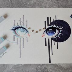 Amazing Learn To Draw Eyes Ideas. Astounding Learn To Draw Eyes Ideas. Amazing Drawings, Beautiful Drawings, Cute Drawings, Amazing Art, Beautiful Eyes, Beautiful Pictures, Awesome, Inspiration Art, Art Inspo