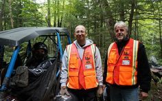 Patrollers from the Quad Club Les Randonneurs participated in the exercise with us - Photo Gallery - ATV Trail Rider