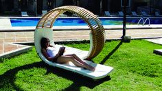 Loopita Chair by Kerozene Design from Windsor Smith on OpenSky - I would love to have this in my backyard Outdoor Spaces, Outdoor Living, Outdoor Decor, Outdoor Projects, Future House, My House, Interior Exterior, Architecture, Alter