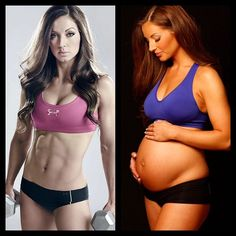 How life can drastically change 1 year later #StrongLikeMommy #FitPregnancy