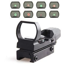 Hot 11mm / 20mm Rail Riflescope Hunting Optics Holographic Red Dot Sight Reflex 4 Reticle Tactical Scope Hunting Gun Accessories #men, #hats, #watches, #belts, #fashion