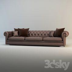 Sofa / Delano / Eric Kuster / Metropolitan Luxury