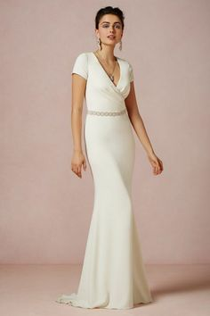 Vintage-Inspired Wedding Gowns: BHLDN | Equally Wed